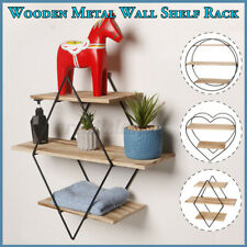 Wall Shelf Organizer Rack Home Decor Floating Wooden Ledge Storage Holder