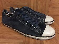 RARE🔥 Converse John Varvatos Low AS LP OX Blue Suede Laced Sz 8 Men's Shoes