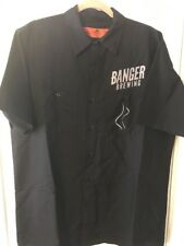 Punisher Red Line W//Left Chest Embroidery Ripstop Crew Shirt SY20