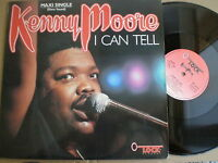 "KENNY MOORE I Can Tell +2 SPAIN ONLY 12"" LOCK 1987 BOOGIE DISCO Modern Soul"
