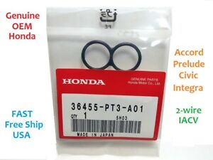 OEM Honda IACV Idle Air Control Valve Gasket 88-00 Prelude Civic Accord Integra
