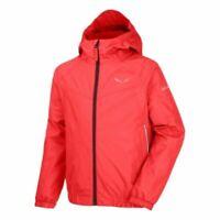 Salewa PUEZ 2 Kids Hot Coral Age 8-9 Snow Jacket - Luxury US Brand RRP £100+