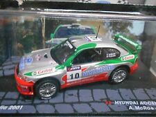 HYUNDAI Accent WRC WRC2 Rallye McRae #10 Castrol 2001 Autralien IXO Altaya 1:43