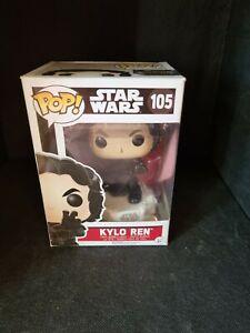 FUNKO POP! - KYLO REN # 105 - STAR WARS THE FORCE AWAKENS - NEW IN BOX
