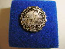 Vintage International Tennis Hall of Fame Lapel Pin/Hat Pin