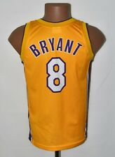 NBA LOS ANGELES LAKERS BASKETBALL SHIRT #8 BRYANT CHAMPION SIZE M KIDS