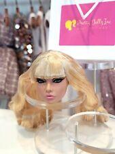"Integrity Toys Poppy Parker ENLIGHTENED IN INDIA 12"" Head only FR white"