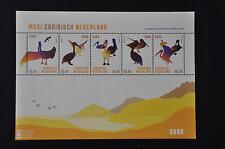 M3 10 ++ CARIBISCH NED. 2014 SABA VOGELS BIRDS MNH POSTFRIS **