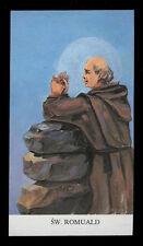 santino-holy card*S.ROMUALDO AB. DI CAMALDOLI