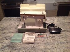 Singer 247 Vintage Sewing Machine Electric Foot Pedal & Case. Tested & Works