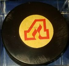 1973-83 NHL Viceroy Game Puck Rubberized Logos CANADA Atlanta flames RARE!!