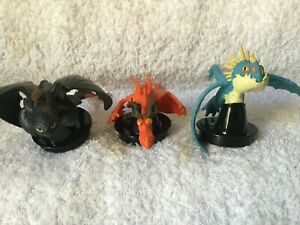Canadian Movie Cake Cup Toppers How to Train your Dragon 2 RARE Limited