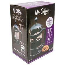 MR COFFEE 28 oz FRENCH COFFEE PRESS (Fine Mesh Filter & Bonus Scoop)