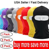 Ultra Thin Neck Warmer Ski Mask UV Protection Cycling Full Face Mask Balaclava