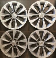 """A SET OF TOYOTA CAMRY 2015 2018 HUBCAPS WHEEL  RIM COVERS 16"""" P/N 4260206070"""