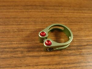 90s vintage alloy seatpost clamp CARVER 34.9 mm MTB