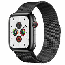Apple Watch Series 5  44mm GPS + Cellular Aluminium  > 9 MONTHS  APPLE WARRANTY<