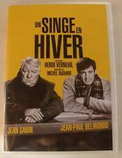DVD UN SINGE EN HIVER - Jean GABIN / Jean Paul BELMONDO - Henri VERNEUIL
