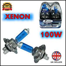 H7 XENON SUPER WHITE 100W 12V HID HEADLIGHT BULBS AUDI A4 8E2 B6