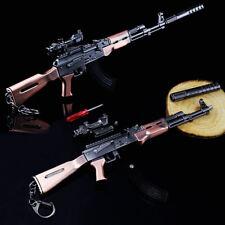 Playerunknown's Battlegrounds PUBG AKM Metal Model Gun Keychain Key Ring B