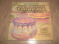 RODGERS AND HAMMERSTEIN * CAROUSEL * NEWLY ORCHESTRATED VINYL LP 1987 EX/EX