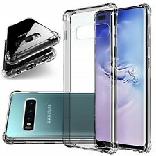 Clear Shockproof Phone Case For Galaxy Note 10 9 8 5 S6 S7 S8 S9 S10 S20 Plus