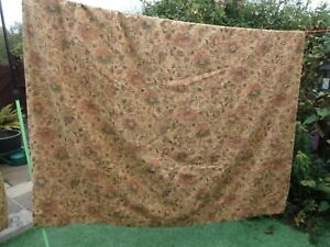 "Pair Tapestry Lined Curtains 74"" Wide X  89"" Drop"