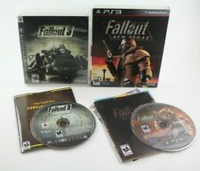 Fallout 3 and Fallout: New Vegas (Sony PlayStation 3, 2008/2010) with Manuals