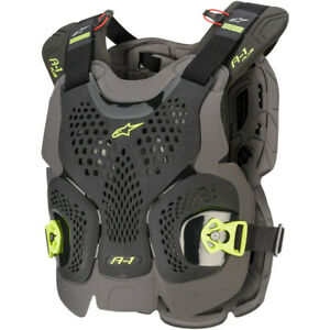 Alpinestars A-1 Plus Chest Protector (Black / Yellow Fluo) Choose Size