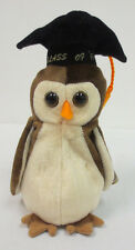 BEANIE BABY OWL WISE BABIES NEW COLLECTION RARE COLLECTORS TY CUTE CLASS OF 1998