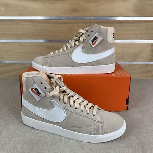 Nike Blazer Mid Rebel Casual Shoes Guava White Black -BQ4022 801 Womens Sz 9