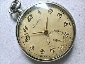 """- antike """"CORTEBERT"""" TASCHENUHR  - SWISS MADE - Anker-Uhrwerk  -  ca.1920/30 -"""