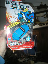 TRANSFORMERS PRIME DECEPTICON RUMBLE WITH SNAP ON PILEDRIVERS, UNOPENED