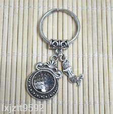 BLACK Mermaid keychain, bagcharm zipper bag charm Fish scales party favors