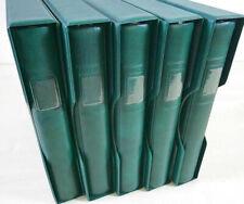 5 Lindner Ringbinder Grün 18 Loch mit Schutzkassetten zum Top Preis !!!
