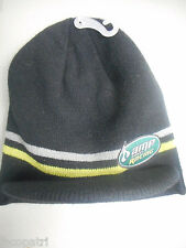 Amp Energy Racing OSFM Billed Beanie Hat Knit Cap New