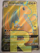 Dragonite GX ® Trionfo Dei Draghi 67/70 ® Rara Full Art ® Pokemon ® Italiano