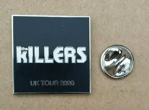 THE KILLERS IMPLODING THE MIRAGE 2020 UK CONCERT TOUR PIN