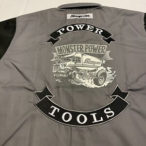 New Snap-on Tools Power Tools Button Up Work Shirt - Sizes: Large & X-Large