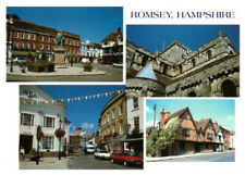 Romsey Hampshire, England Rare Multiview Postcard