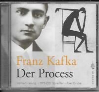 1 MP3-CD Franz Kafka `Der Process` Neu/OVP Axel Grube (über 10 Stunden)