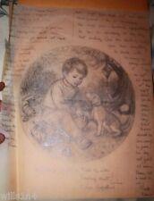 Original Illustrator Art Danbury Mint Plate Woeful Wednesday Elaine Gignilliat