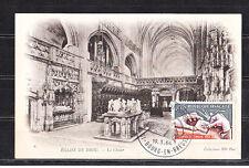 carte   1er jour   journée du timbre   Bourg en Bresse 1966