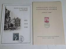 Stamps Czechoslovakia 1946, Souvenir