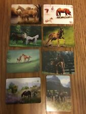 8 Single Swap Western Horse Mare Foal Playing Cards