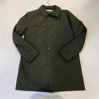Bugatti Parka Coat Jacket Black Mens Size UK 44R *REF160