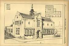 1903 Design For Small Library Designed By Mr James Swan