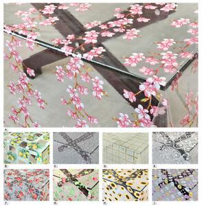 Tovaglia trasparente moderna antimacchia varie misure copri tavolo in plastica