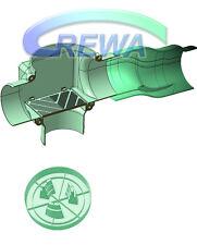 REWA Zisternenfilter Set F-100L mit Kunststoffspaltsieb, Skimmer und Zulauftopf
