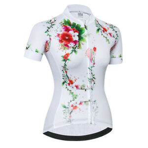Women's Cycling Jersey Bicycle Short Sleeve Shirt Cycling Top Bike Clothing CD06